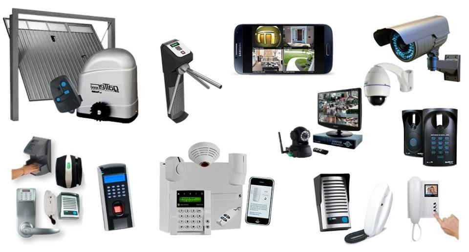 Porteiro eletrônico para prédios - Equipamentos de segurança residencial